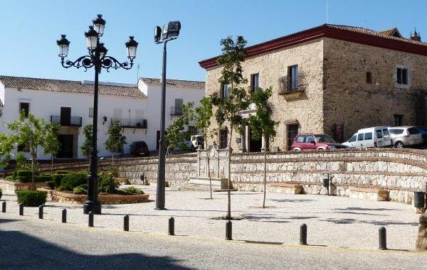 rehabilitación nuevos saneamientos plaza alta aracena