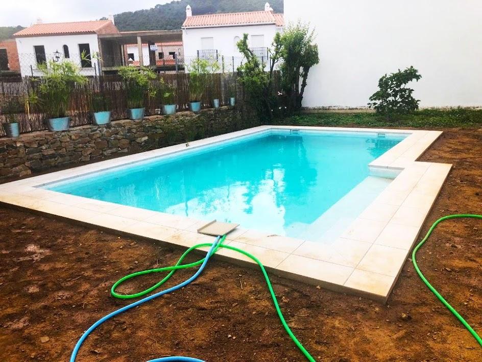 piscina de hormigón gunitado