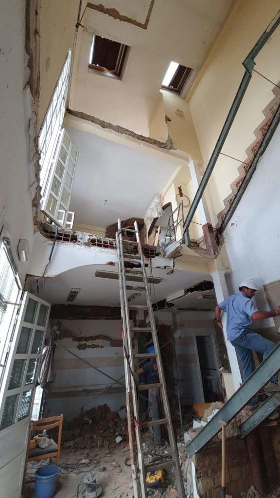 reforma de edificio para hacer apartamentos turísticos