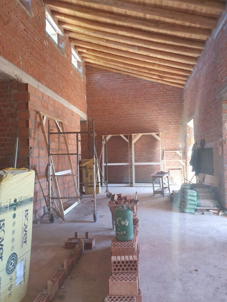Rehabilitación cortijo principal Valle Fernando